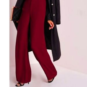 Missguided Wide Leg Trousers Woman's Size 18